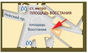 МЦ РАОМед Плюс: схема проезда